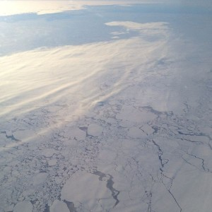 Photo taken from 30,00ft above Antarctica - En route to SA